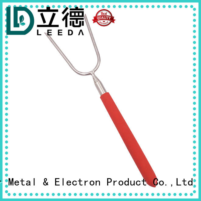Bangda Telescopic Pole handle barbecue fork promotion for BBQ