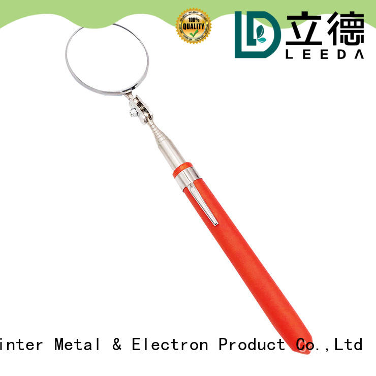 Bangda Telescopic Pole durable large inspection mirror on sale for car repair
