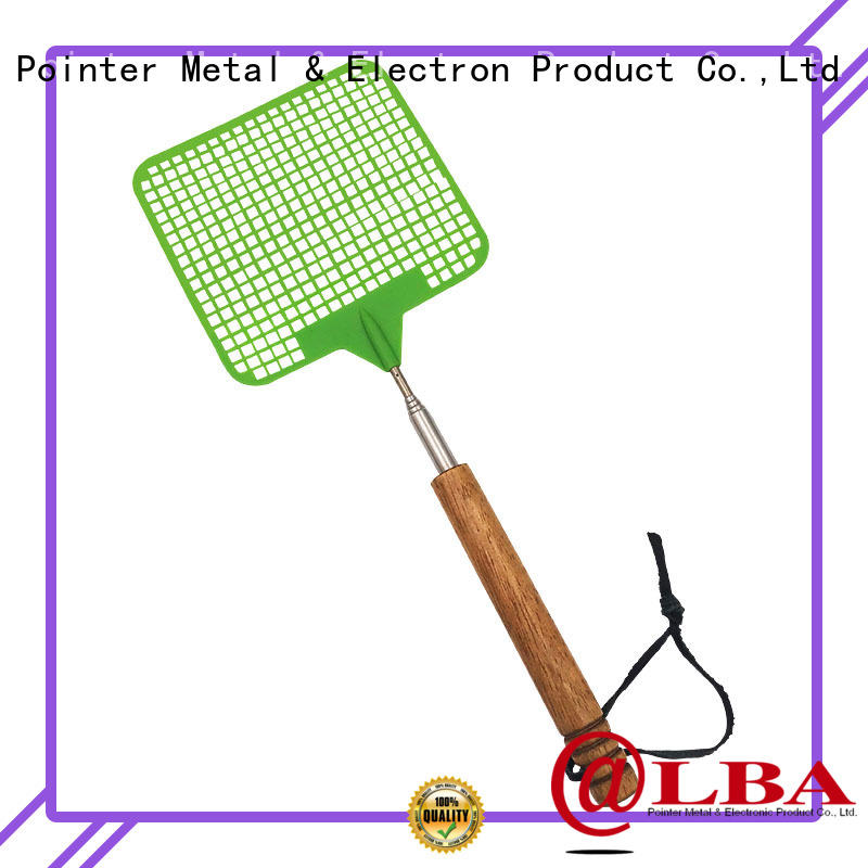 high quality long fly swatter telescopic wholesale for household