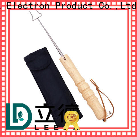 Bangda Telescopic Pole extendable barbecue skewers stainless steel online for BBQ