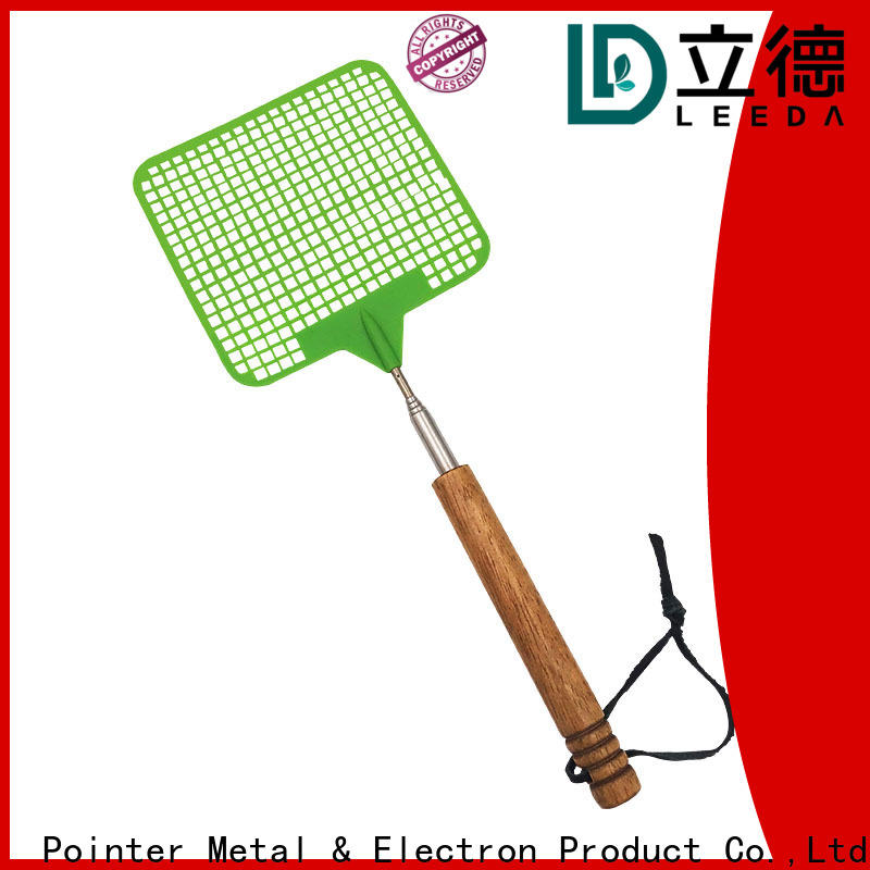 Bangda Telescopic Pole wooden best fly swatter from China for restaurant
