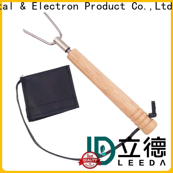 Bangda Telescopic Pole stick bbq skewers stainless steel promotion for picnic