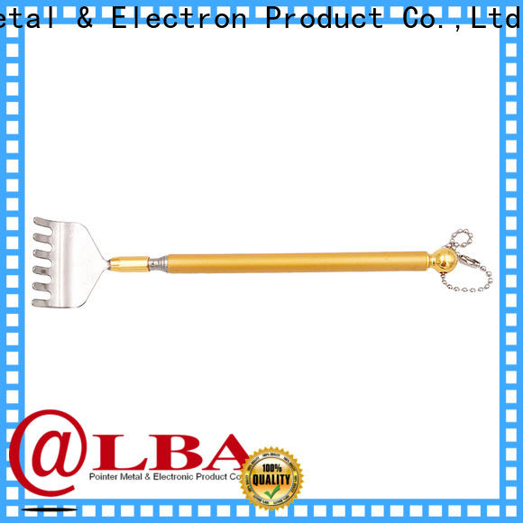 anti-rust metal extendable back scratcher adjustable factory price for household
