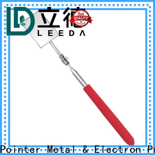 Bangda Telescopic Pole durable vehicle checking mirror promotion for workplace