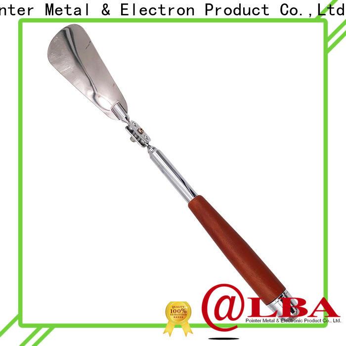 portable steel shoe horn handle manufacturer for family