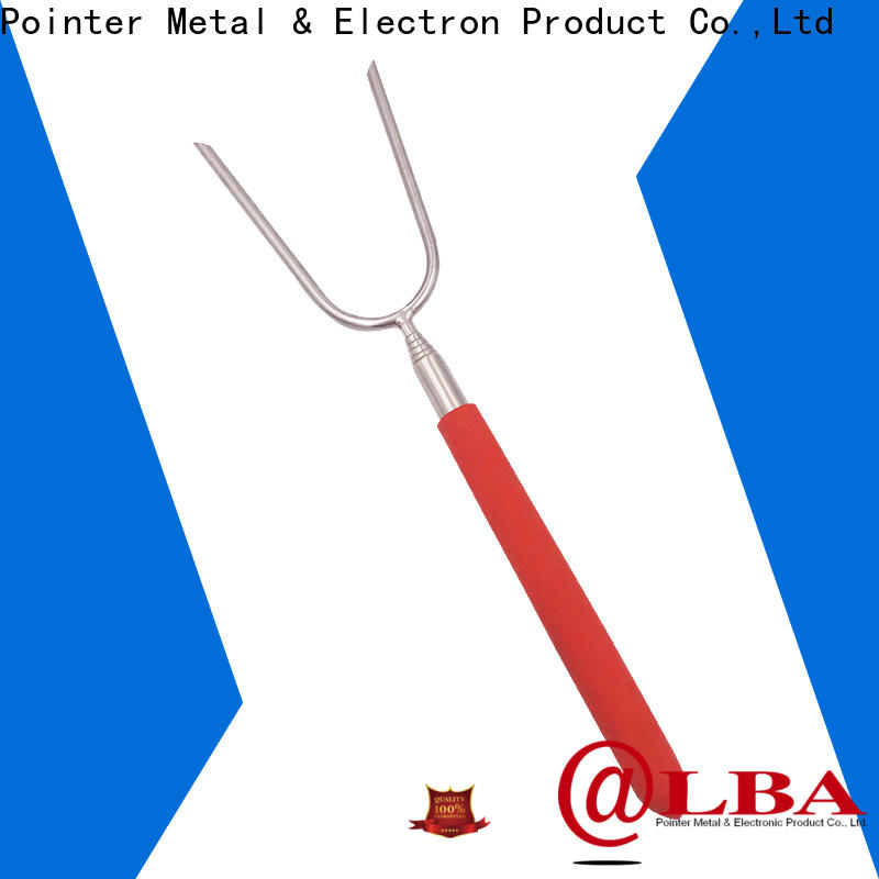 Bangda Telescopic Pole pvc stainless steel skewers supplier for outdoor party