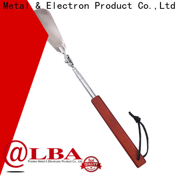 portable long metal shoe horn clip manufacturer for home