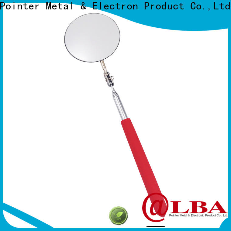 durable telescoping inspection mirror stainless promotion for workshop