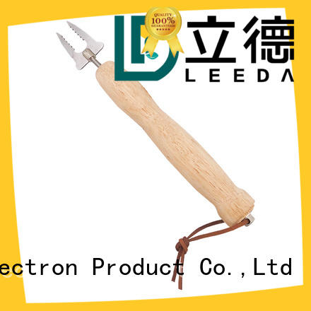 Bangda Telescopic Pole wooden barbecue fork promotion for picnic