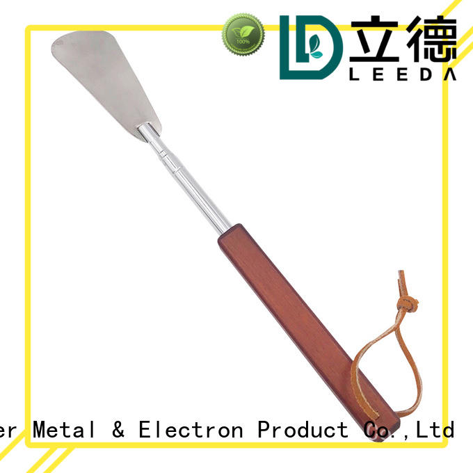 portable long metal shoe horn mini manufacturer for daily life