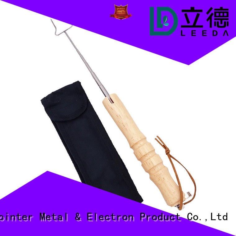 Bangda Telescopic Pole rope stick barbecue online for barbecue