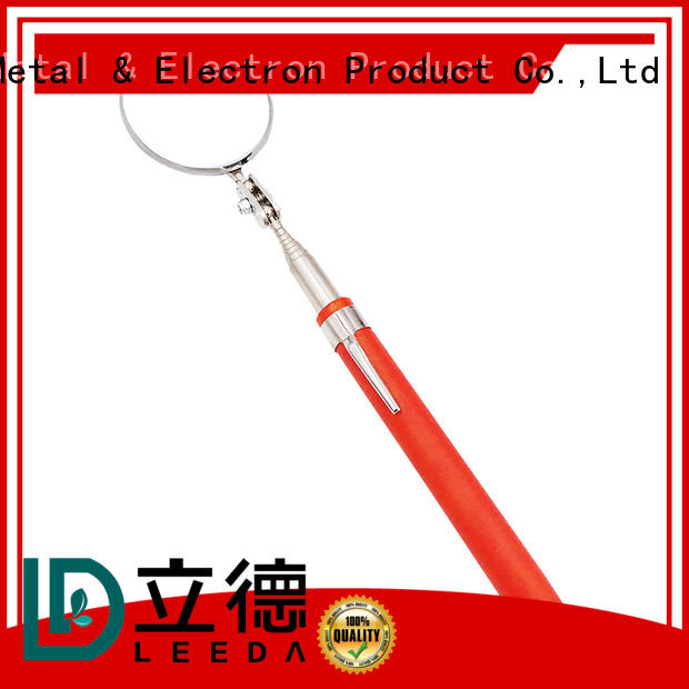 Bangda Telescopic Pole professional vehicle search mirror from China for workplace