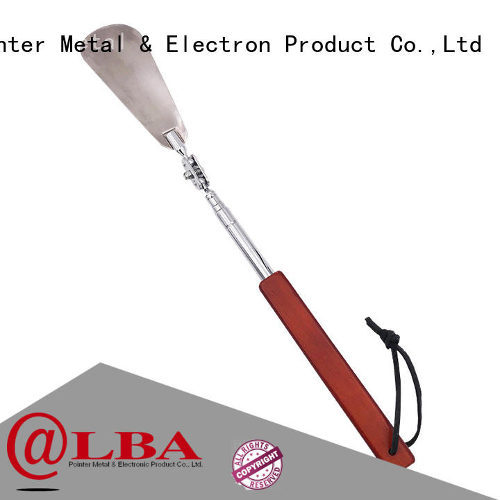 Bangda Telescopic Pole massage long handled metal shoe horn factory price for daily life