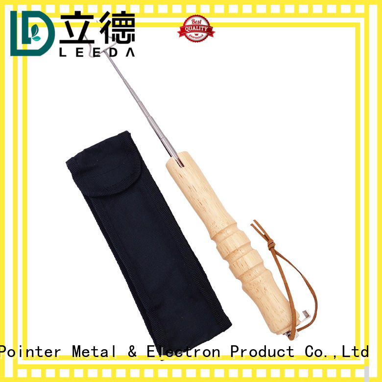 durable stainless steel skewers fork online for barbecue
