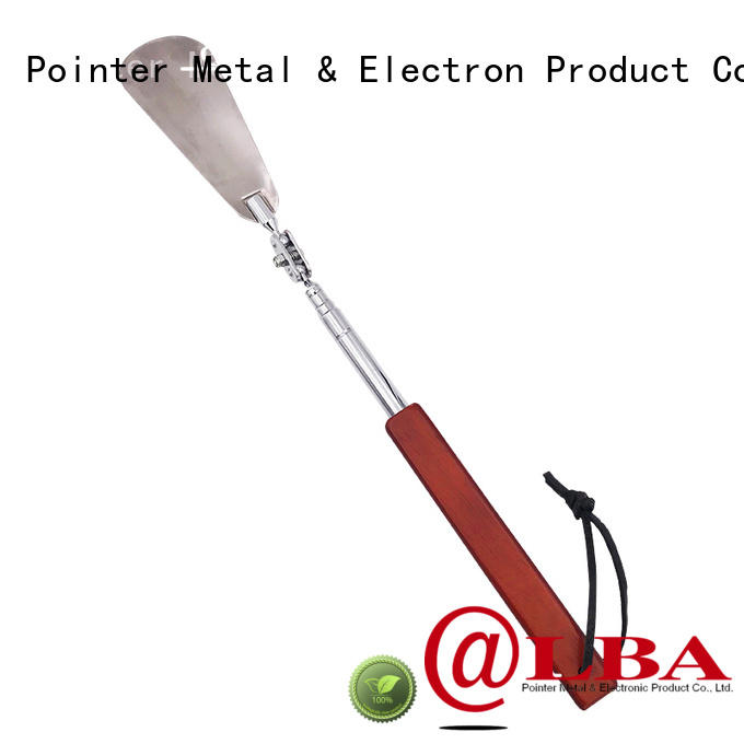 portable telescopic shoe horn wooden wholesale for household