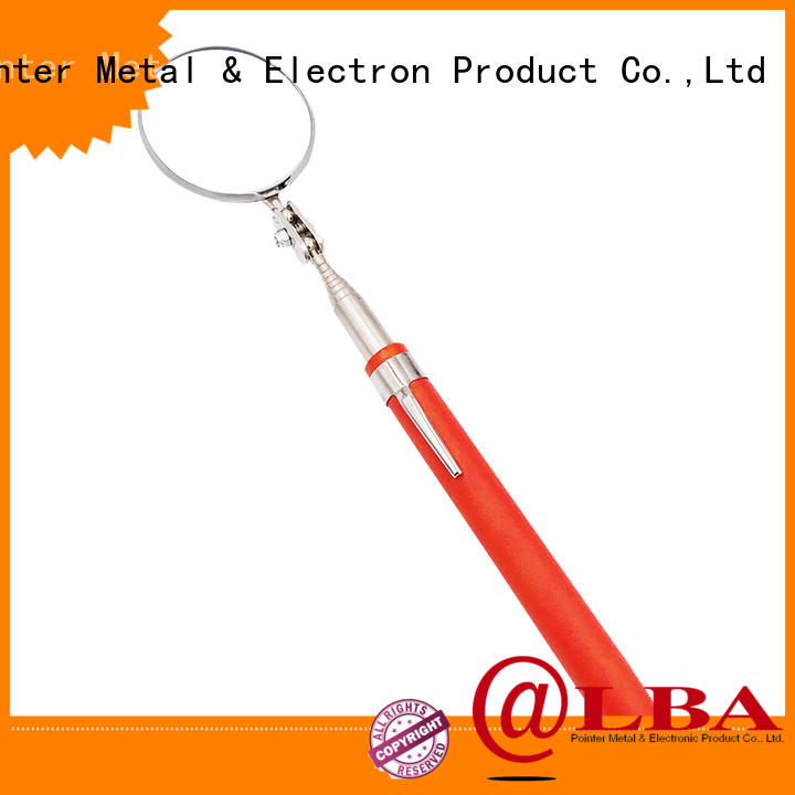 Bangda Telescopic Pole durable vehicle inspection mirror from China for workplace