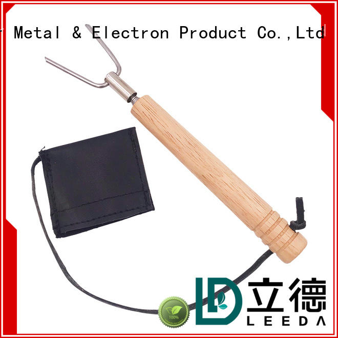 Bangda Telescopic Pole grill steel skewers promotion for barbecue