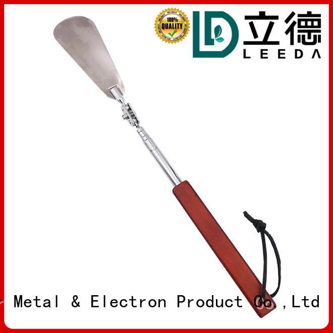 shoe long handled metal shoe horn wholesale for daily life Bangda Telescopic Pole