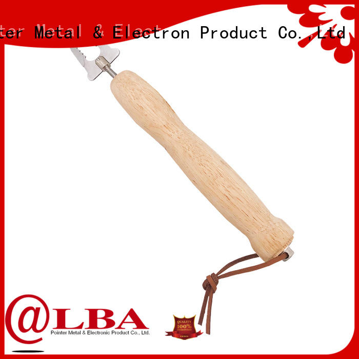 customized barbecue skewers stainless steel sticks supplier for BBQ