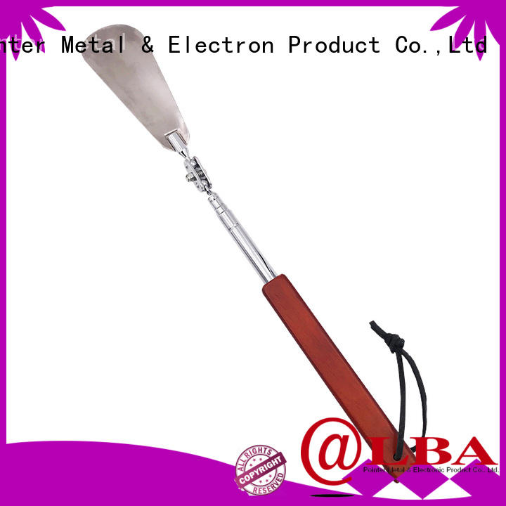 Bangda Telescopic Pole customized extra long shoe horn stainless steel wholesale for daily life
