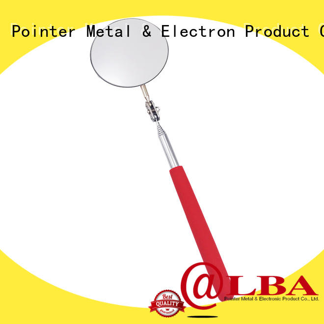 Bangda Telescopic Pole good quality vehicle inspection mirror from China for workshop