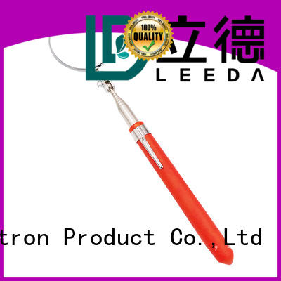 durable inspection mirror pvc promotion for vehicle checking