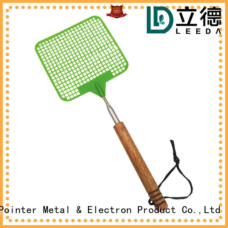Bangda Telescopic Pole multi function extendable fly swatter from China for home