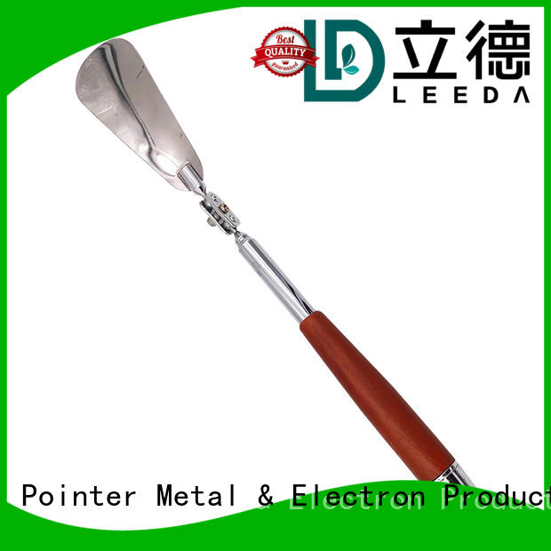 Bangda Telescopic Pole wooden long metal shoe horn wholesale for household
