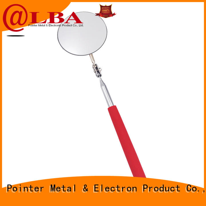 Bangda Telescopic Pole durable large inspection mirror from China for car repair