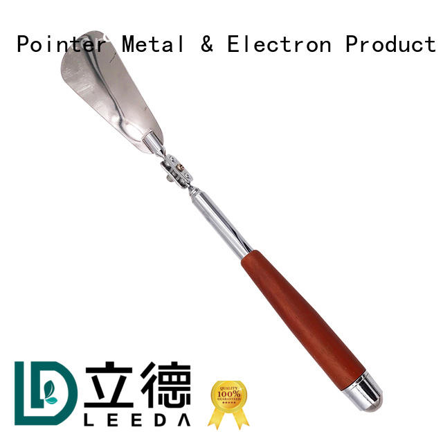 Bangda Telescopic Pole durable long metal shoe horn manufacturer for daily life