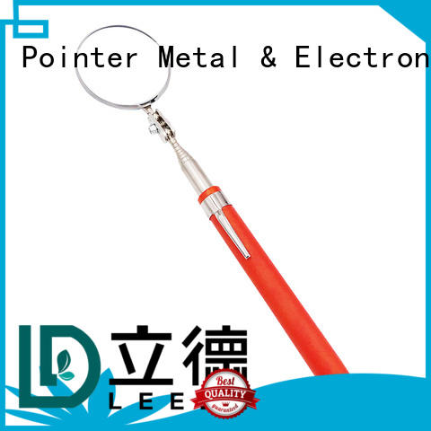 Bangda Telescopic Pole customized telescoping inspection mirror promotion for vehicle checking