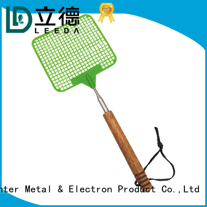 Bangda Telescopic Pole multi function mosquito swatter fly for household