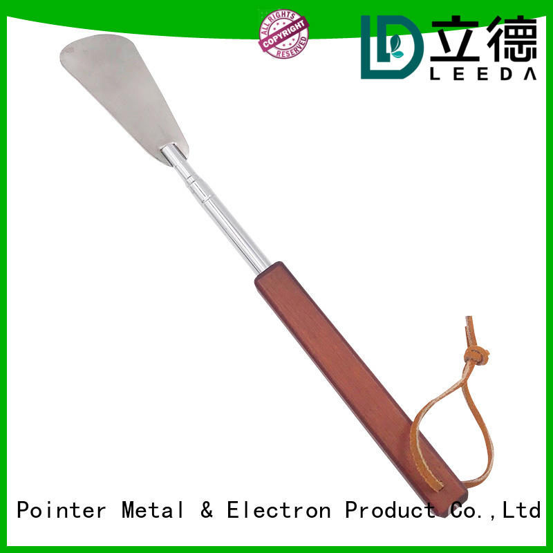 Bangda Telescopic Pole durable long metal shoe horn manufacturer for home