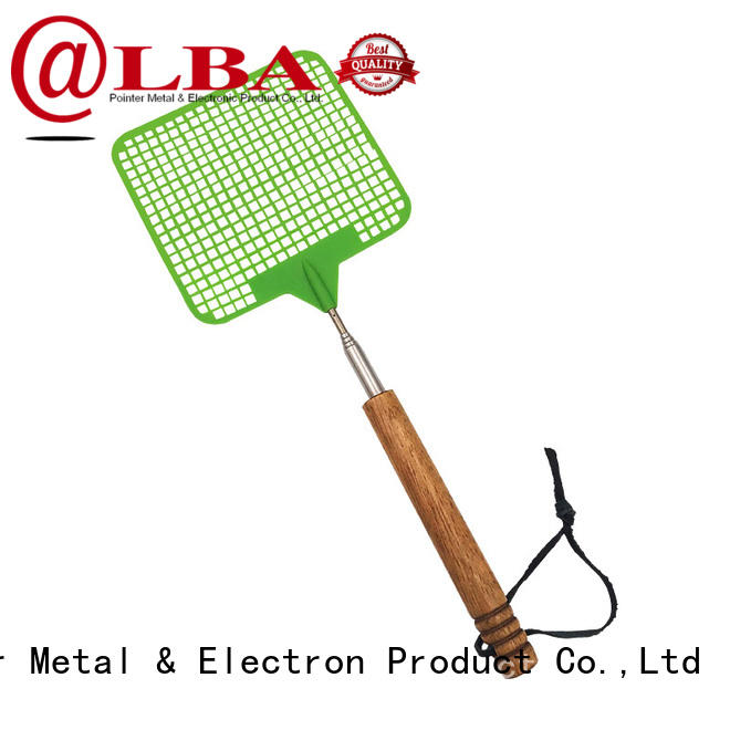 handle retractable fly swatter stainless for restaurant Bangda Telescopic Pole