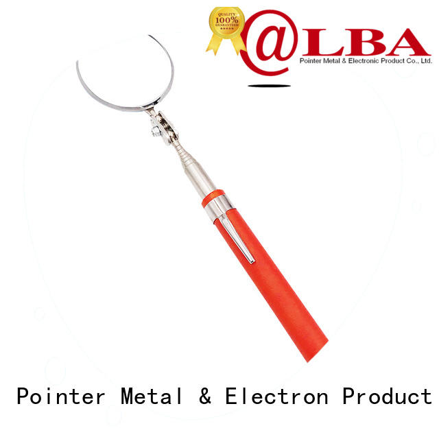 Bangda Telescopic Pole durable extendable mirror tool rubber for vehicle checking