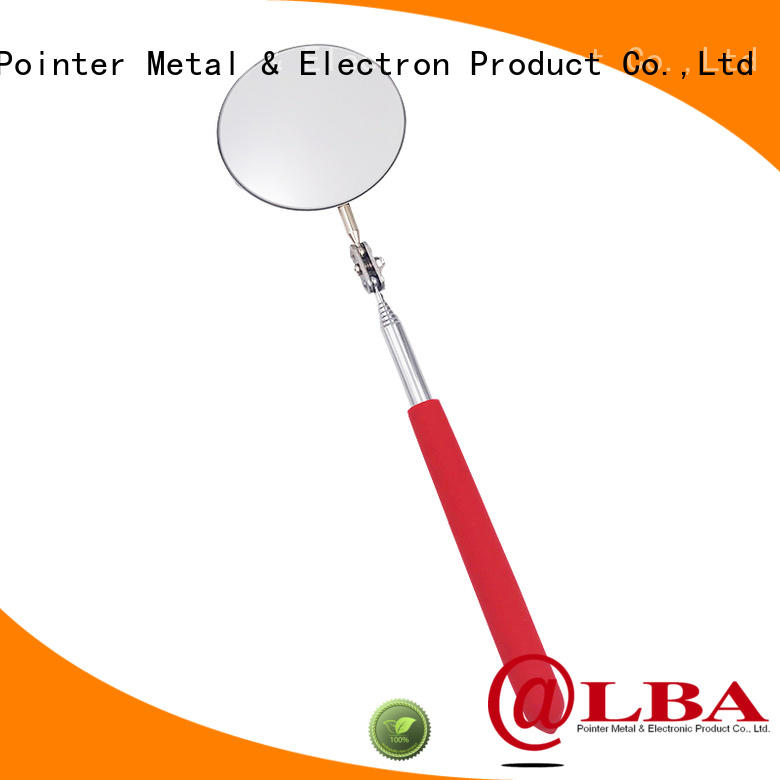 rubber vehicle checking mirror on sale for workplace Bangda Telescopic Pole