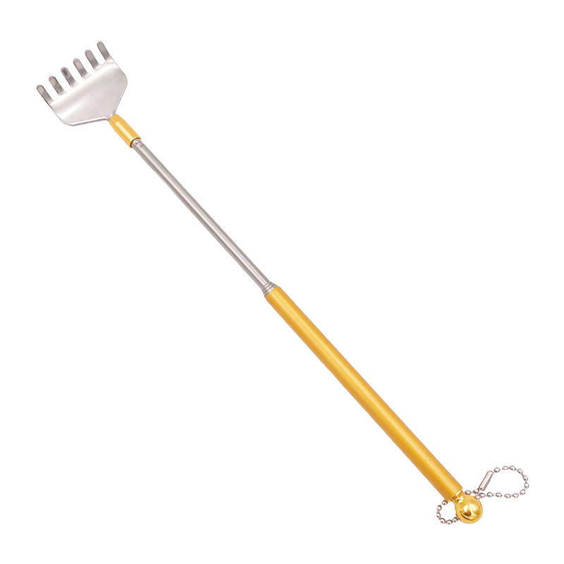 Metal Back Scratcher Telescopic Backscratcher with Mini Chain G11-375