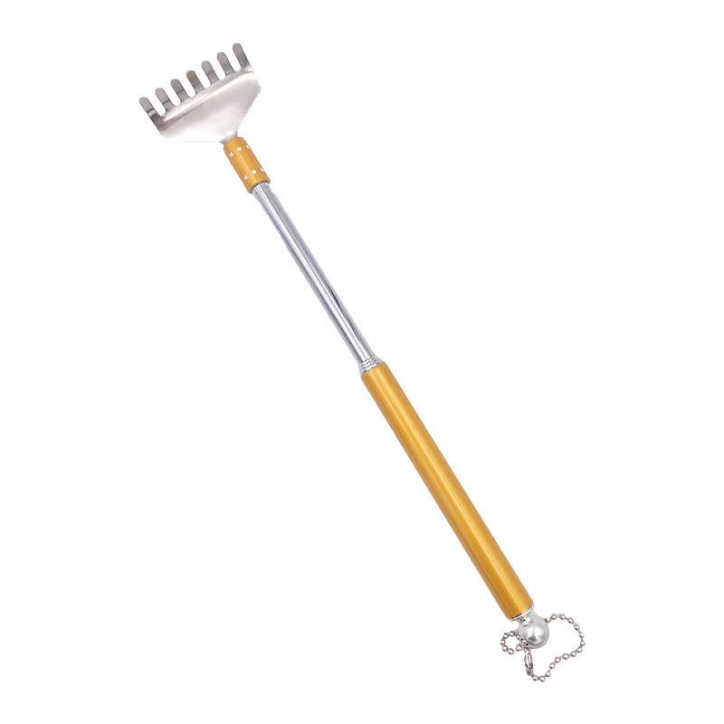 Back Scratcher Stick Telescopic Backscratcher with Ear clean tool G11-496