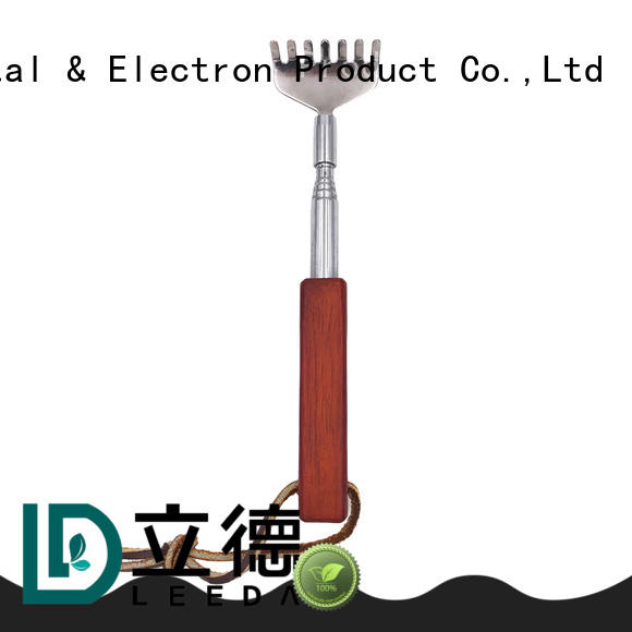 customized metal retractable back scratcher on sale for household