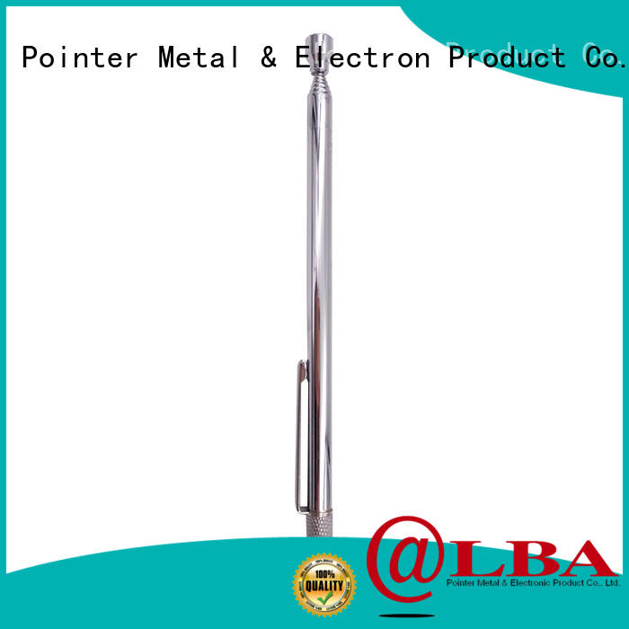 Bangda Telescopic Pole rotatable pocket magnetic pickup tool coiler for car repair