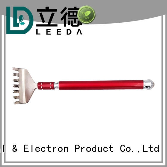 Bangda Telescopic Pole customized metal retractable back scratcher massage for household