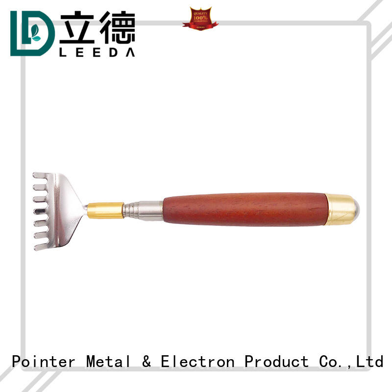 professional metal back scratcher pvc factory price for family