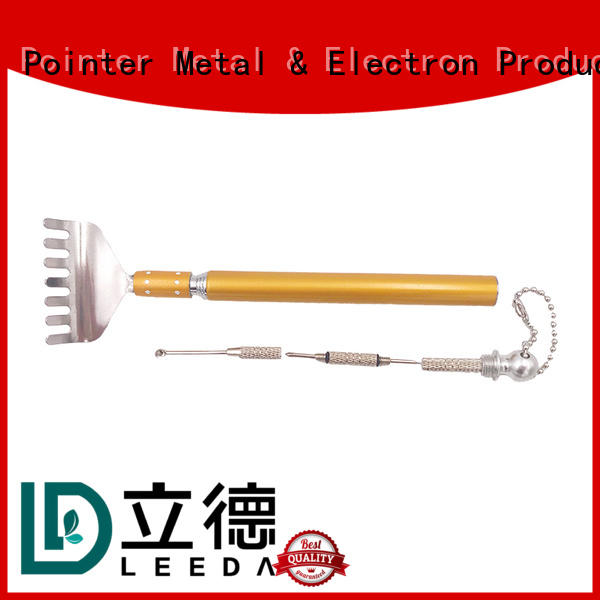 adjustable metal back scratcher wooden manufacturer for household