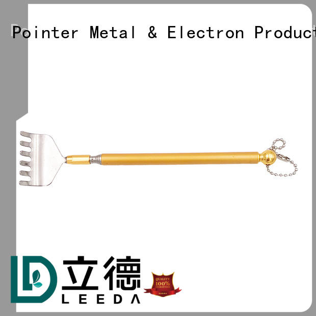 professional metal extendable back scratcher stick on sale for home